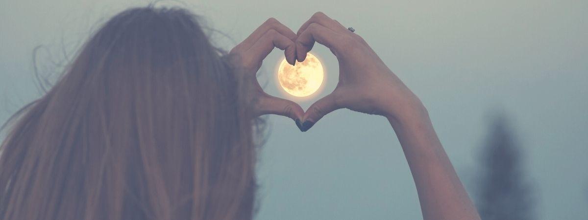 Ziele auf den Mond - wenn du ihn verfehlst, wirst du zwischen den Sternen landen